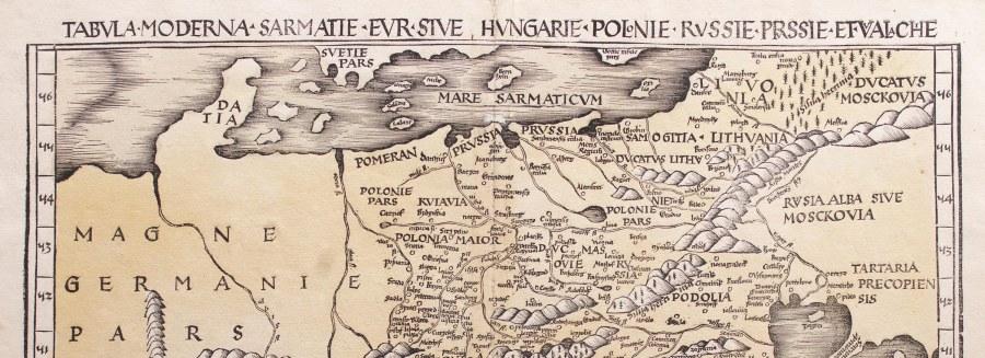 AUKCJA MAP POLSKI z prywatnej kolekcji, cz. 1