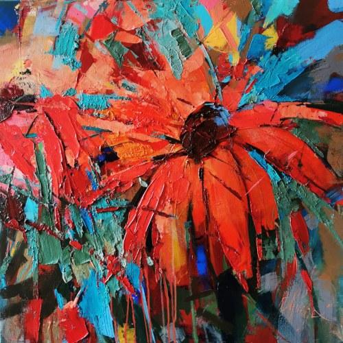 Grażyna Mucha, Kwiaty