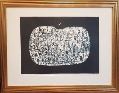 Lucjan Mianowski, Pejzaż księżycowy 1964 dla Ryszarda Mickiewicza Ed A. 1983