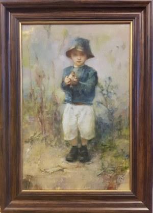 Igor Skworcow, Chłopiec z ptaszkiem