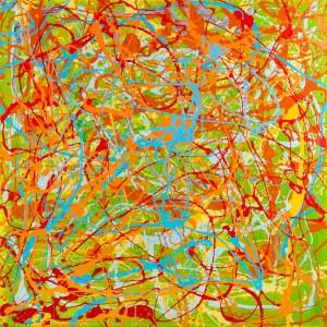 Edward Dwurnik, Abstrakcja
