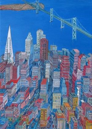 Edward Dwurnik, San Francisco