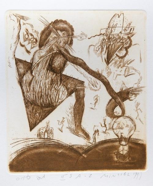Minciel Eugeniusz (1958), bez nazwy ze zbioru grafiki