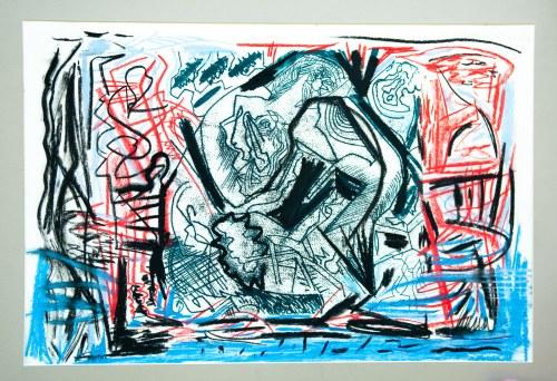 Minciel Eugeniusz (1958), kompozycja na papierze 2007/2008