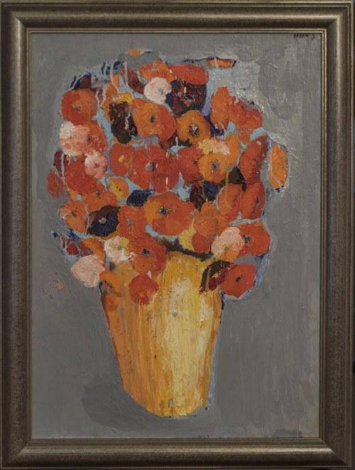 Jolanta Caban ( ur. 1962 ), Bukiet maków w wazonie, 2020