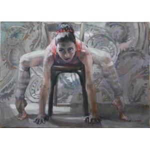 Małgorzata Zofia Maćkowiak, Odpoczynek baletnicy, 2017