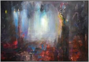 Jacek Maślankiewicz (ur.1955), Sala balowa  II z cyklu Katedra, 2021