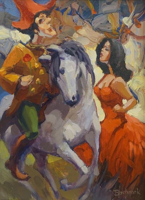 Tomasz Bachanek, W tem książę na białym koniu