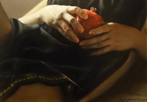 Anna Jagodova, Jabłko