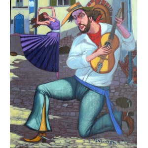 Jacek Pałucha, Tango i gitara