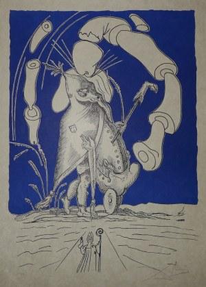 DALI Salvador (1904 - Figueras - 1989)., Les songs drolatiques de Pantagruel. (Figlarne sny Pantagruela).