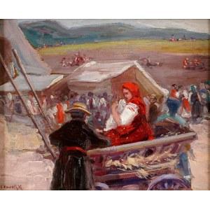 Leon Kowalski (1870-1937), Scena rodzajowa