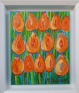 Dwurnik Edward, Pomarańczowe Tulipany
