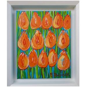 Edward Dwurnik, Tulipany pomarańczowe