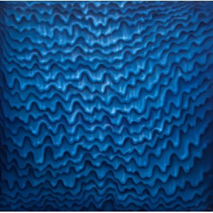 Hanna Rozpara (ur. 1990), Niebieski fluid, 2021