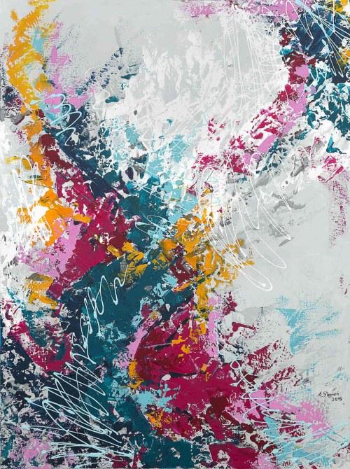 Anna Stępień (ur. 1982), Polowanie na kolory, 2019