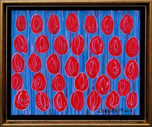 Edward Dwurnik, Czerwone tulipany