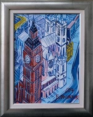 Edward Dwurnik, Londyn