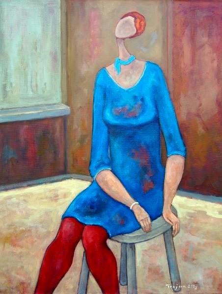 Henryk Trojan, Dziewczyna w czerwonych rajtuzach