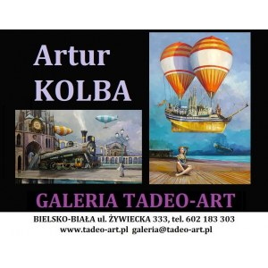 Artur KOLBA 90x60cm, Arka