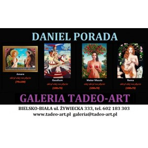 Daniel PORADA  75x100cm, Amare