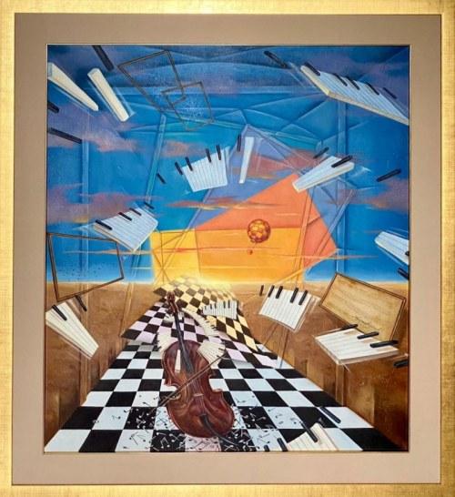 Dariusz ŚLUSARSKI 90x80cm, Symfonia