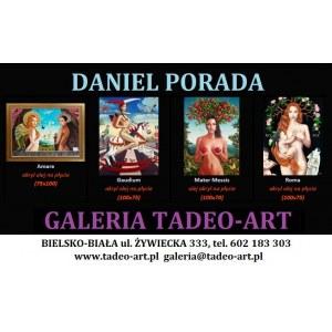 Daniel PORADA 100x75cm, Roma