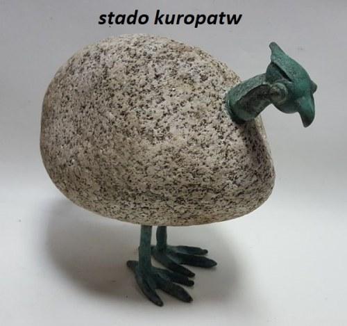 Bronisław Chromy  wys. 19cm, długość 20cm nr4, Kuropatwa