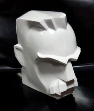 Stanisław Brach - wym 22x21x16    42/100/2018 BRACH, rzeźba porcelanowa