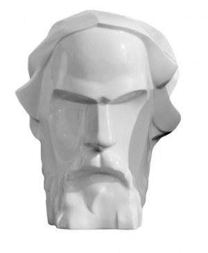 Stanisław Brach -NORWID  wym 26x22cm  22/200/2021, rzeźba porcelanowa