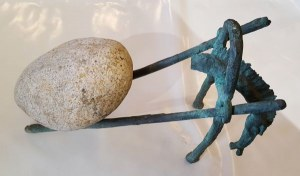 rzeźba Bronisław Chromy długość max. 85cm, wysokość 55cm, szerokość ok. 30cm, Koń