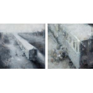 Norman Leto (właśc. Łukasz Banach), Bez tytułu / dyptyk, 2006