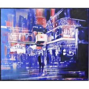 Piotr Piecko, Time Square, 2017