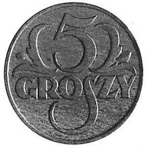 5 groszy 1929, Aw: Napis II ZJAZD NUMIZMATYKÓW I MEDALO...