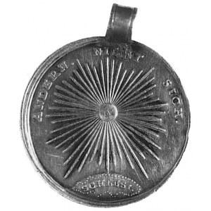 medal z uchem, nie sygnowany, b.d., poświęcony hrabiemu...
