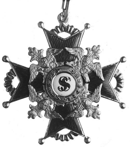 krzyż Orderu Św. Stanisława, lata 30-te XIX w., punca n...