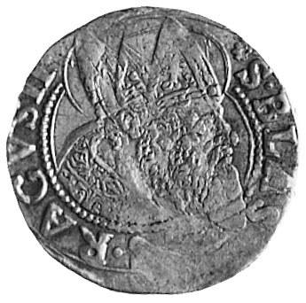 trojak 1629, Aw: Popiersie i napis, Rw: Napis w 3 wiers...