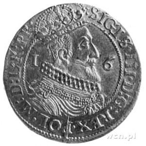 ort 1623, Gdańsk, Aw: Popiersie, po bokach cyfry 1-6 i ...
