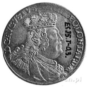 szóstak 1756, Lipsk, j.w., Kop.328.II.4 -R-, Merseb.178...