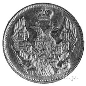 3 ruble=20 złotych 1835, Petersburg, Aw: Orzeł carski, ...