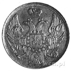 15 kopiejek=l złoty 1840, Petersburg, j.w., Plage 416