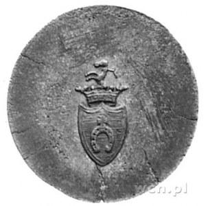 moneta zastępcza nieznanego majątku, Aw: Nominał 1, Rw:...