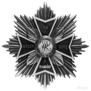 gwiazda i krzyż Orderu Orła Białego; krzyż dwuczęściowy...