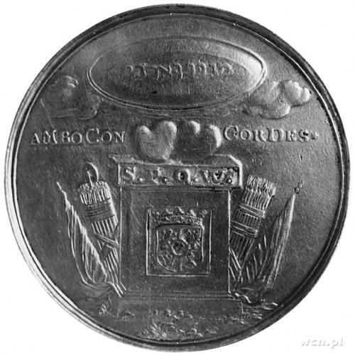 medal sygnowany IRE (Johann Reinhard Engelhard- medalie...