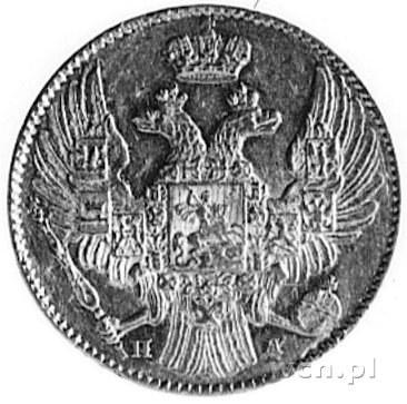 Mikołaj I 1825-1855, 5 rubli 1838, Petersburg, Fr.138