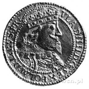dukat 1638, Gdańsk, Aw: Popiersie i napis, Rw: Herb Gda...