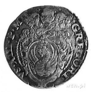 giulio b.d., Rzym, Aw: Święty Piotr z kluczami i napis,...