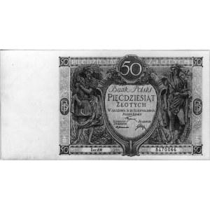 50 złotych 15.08.1925, Pick 64, Parchimowicz 36b.II