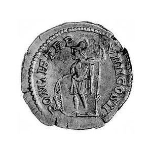 denar, Aw: Popiersie w wieńcu w prawo i napis: ANTONINV...