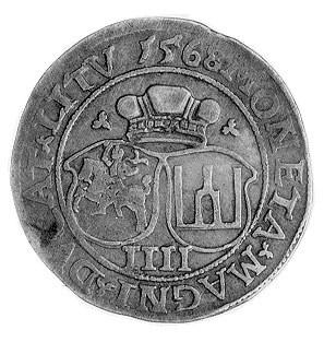 czworak 1568, Wilno, j.w., Gum. 624, Kurp. 867 R.